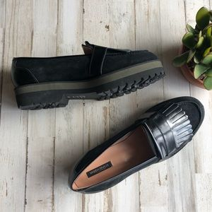  MARINA RINALDI  platform shoe